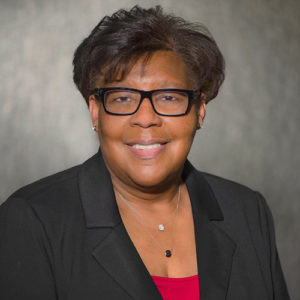 Portrait of Lori Banks, Chief Experience Officer of AUHMC
